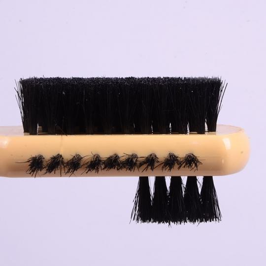 מברשת שיער סוס 3 צדדים מברשות
