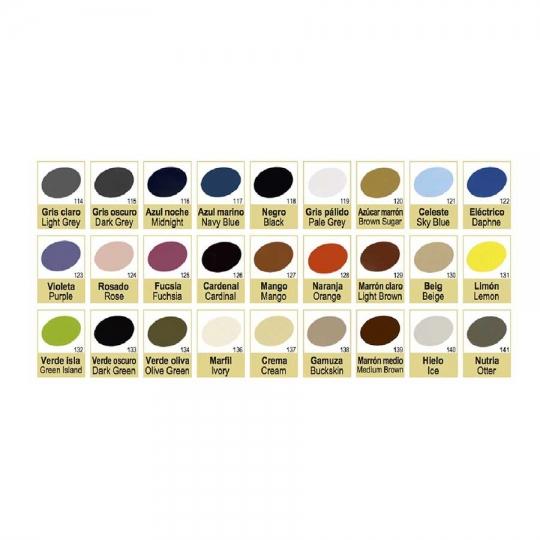 צבע לצביעת נעליים מעור צבעים